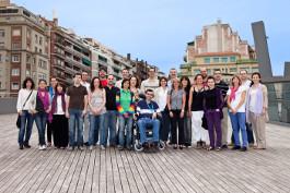 Foto de grupo del equipo de BJ Adaptaciones